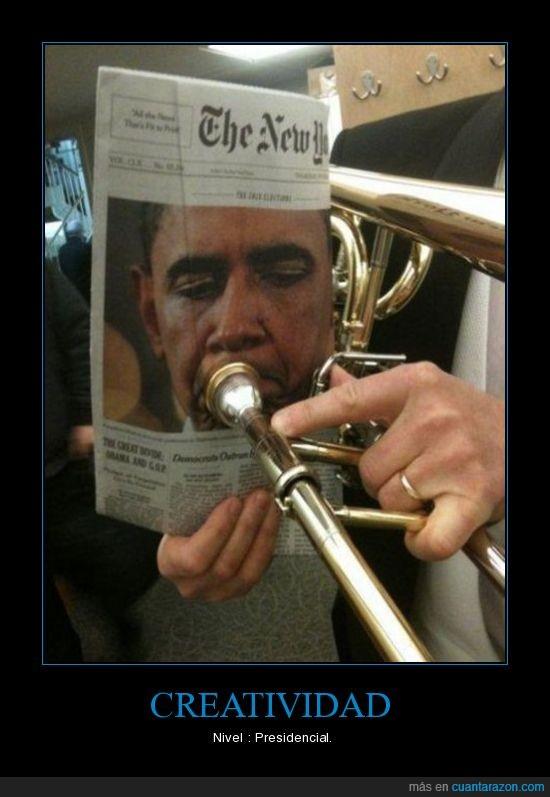 creatividad,nivel,obama,presidente