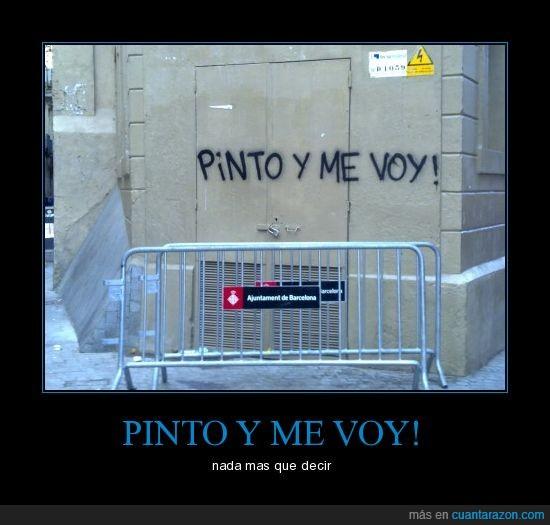 barcelona,cachondos,graffiteros,irse,movil,pintar