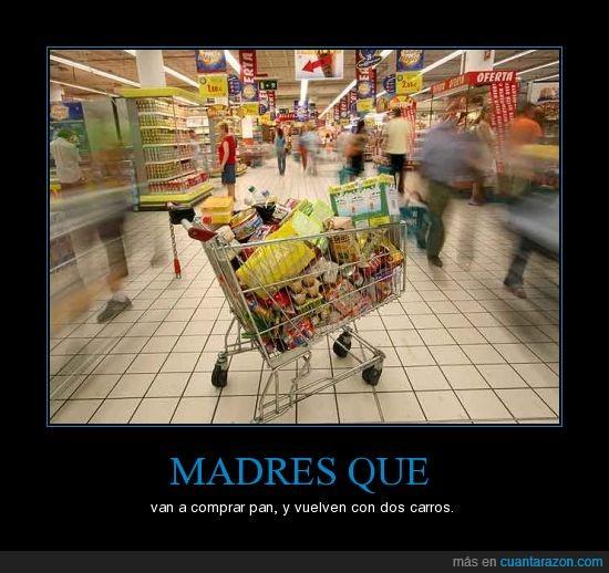 carros,compra,madres,pan