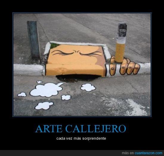 arte,callejero,fumar,sorprender