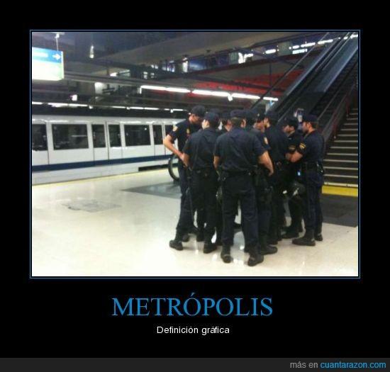 definición gráfica,metro,polis
