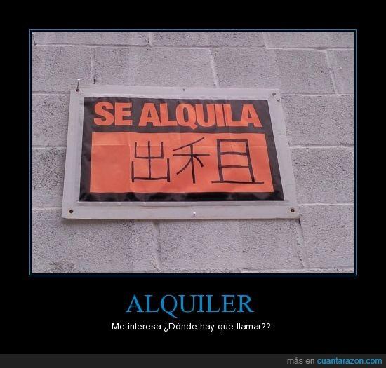 alquila,cartel,chino,movil,numeros