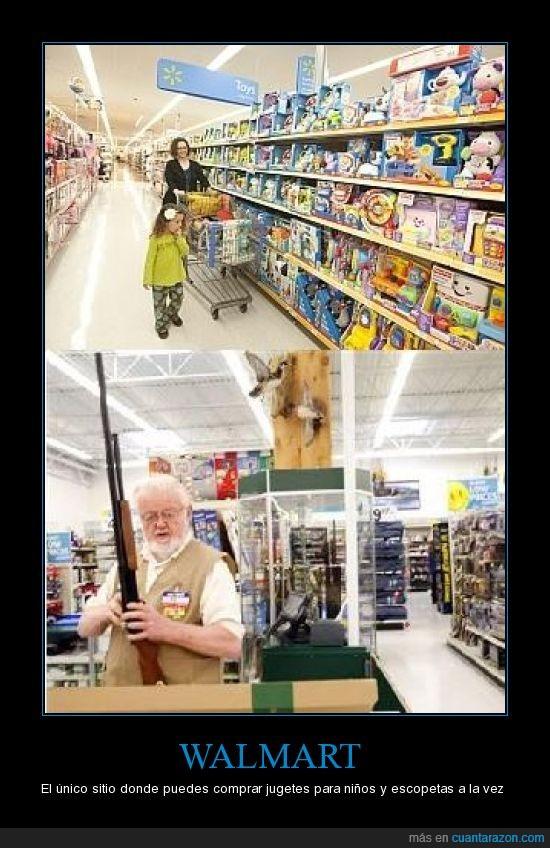 juguetes,pistolas,supermercado,walmart