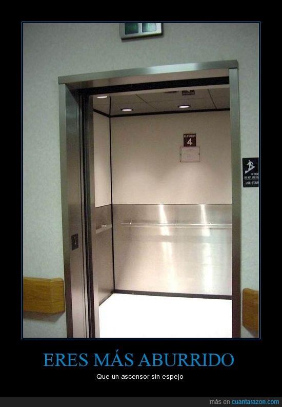 aburrido,ascensor,espejo,movil,pasatiempo