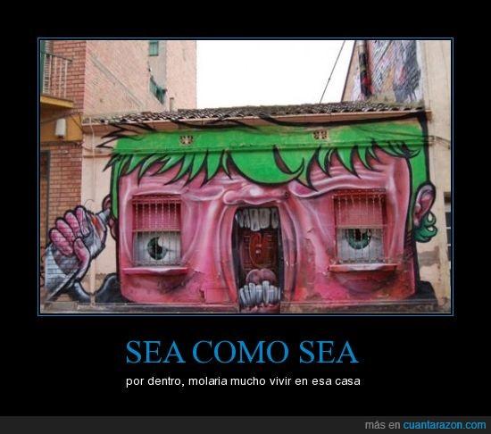 arte,casas,grafittis