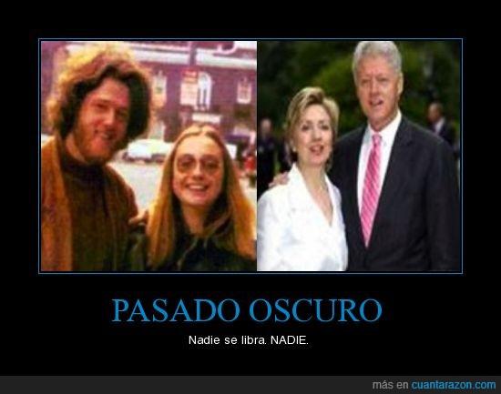 america,bill,clinton,hillary,jovenes,pareja,presidente