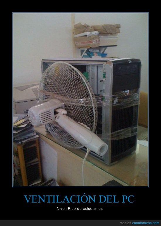 ordenador,ventilacion,ventilador