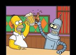Enlace a HOMER Y BENDER