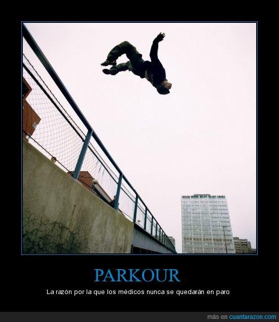 medicos,parkour