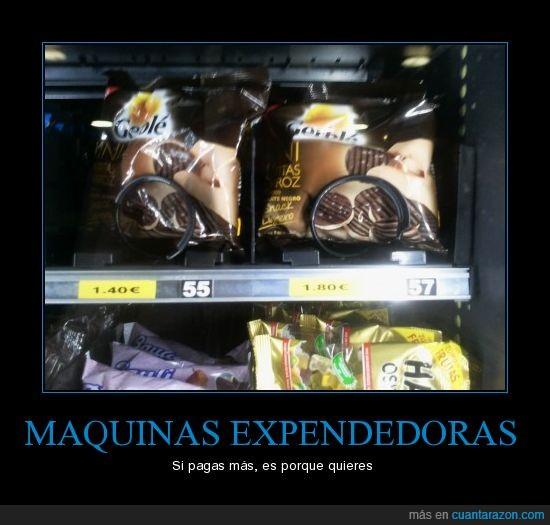 expendedoras,Maquinas,pagar,vending
