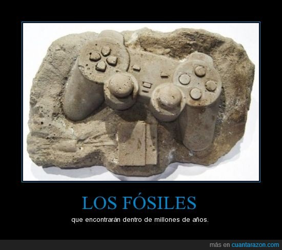 fósiles,play station