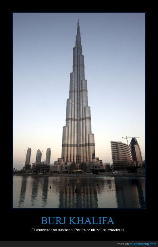 ascensor,burj khalifa,dubai,escaleras