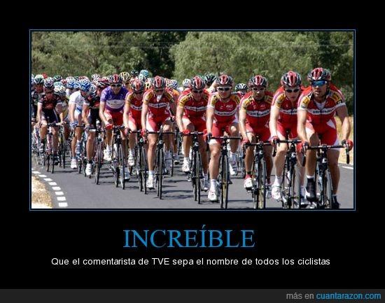 bicicleta,ciclistas,comentarista,españa,nombres,tv1,vuelta