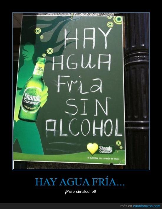 agua,alcohol,wtf