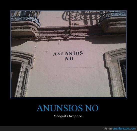 Almería,anuncio,falta,ortografía