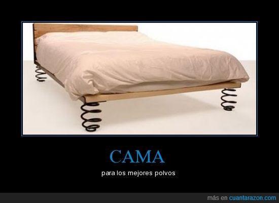 cama,muelles