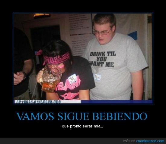 bebida,borracha,cerveza,chica,chonis,gordo,nerd
