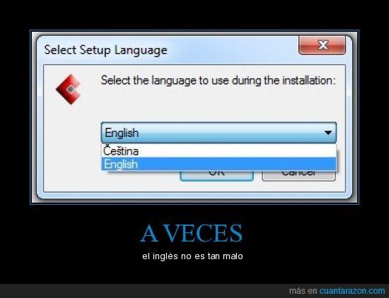 cestina,inglés,lenguaje,mejor