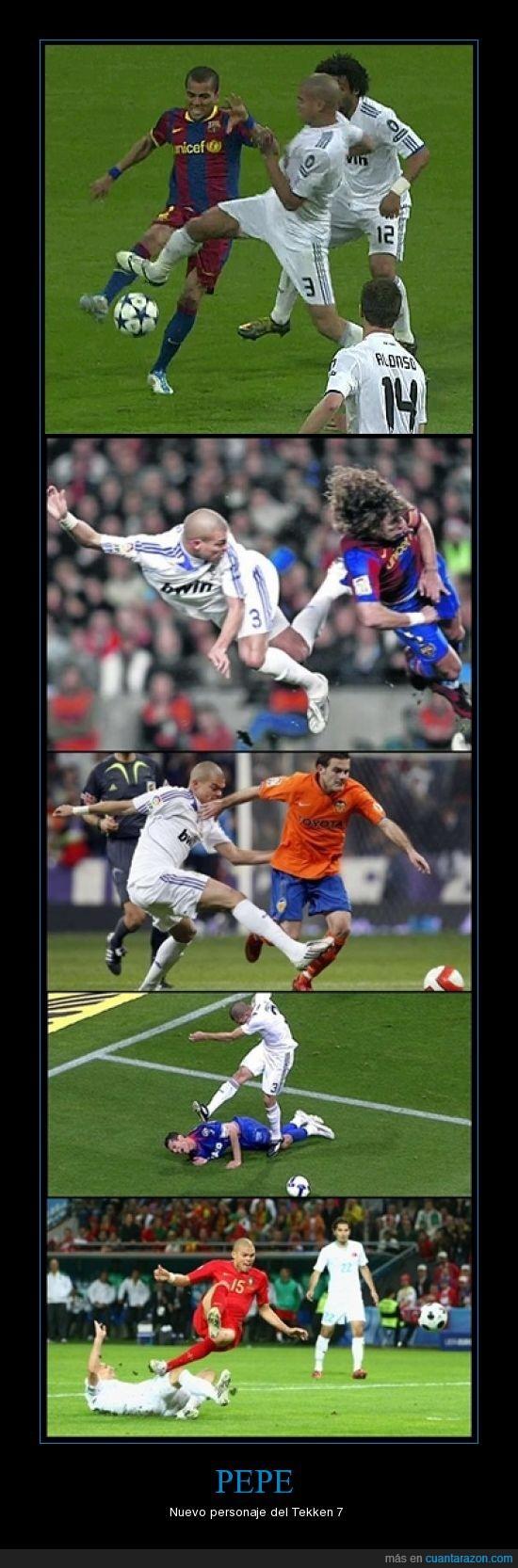 entradas,loco,madrid,Pepe,piernas,rompe