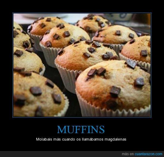 magdalenas,muffins