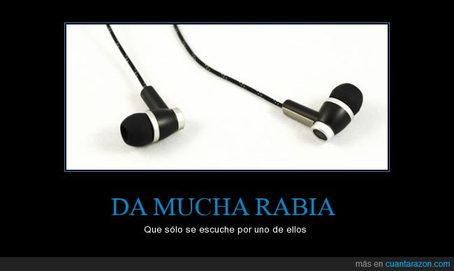 auriculares,roto