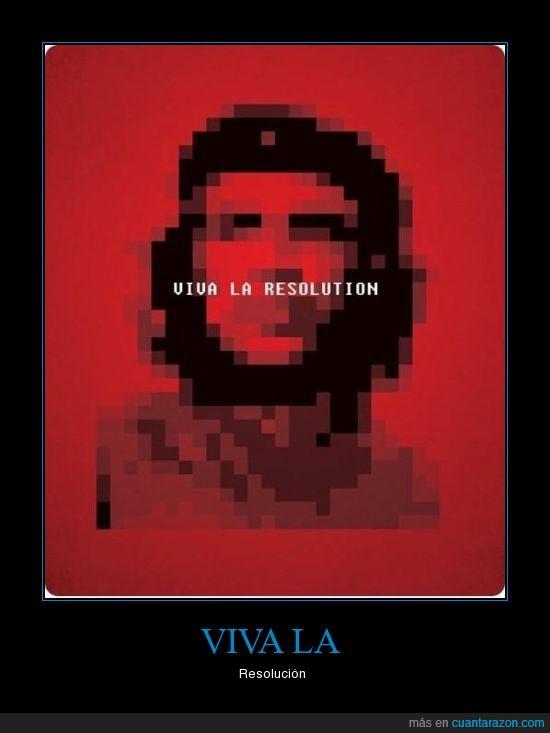 che,guevara,pixels,Resolución,revolución