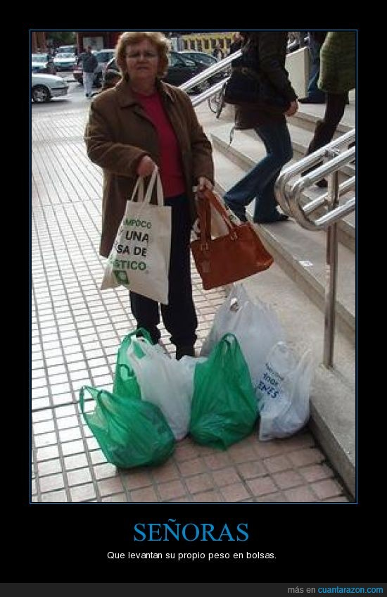 bolsas,cargar,peso,señoras