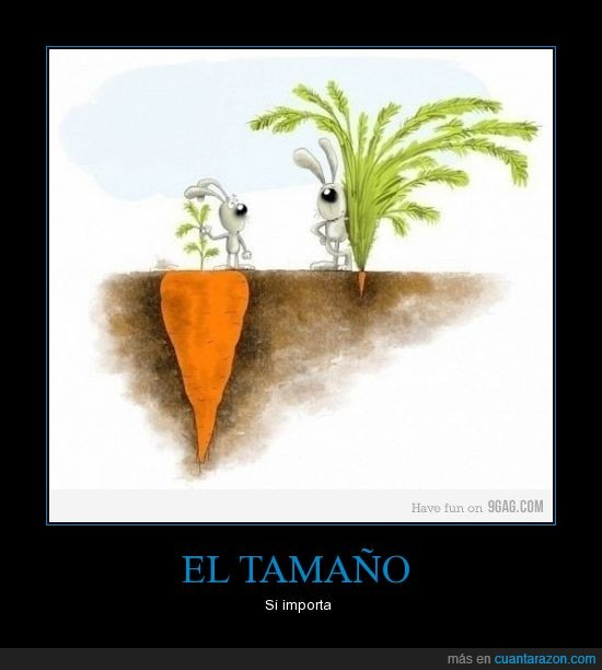flipao,tamaño,zanahorias,zanahorios