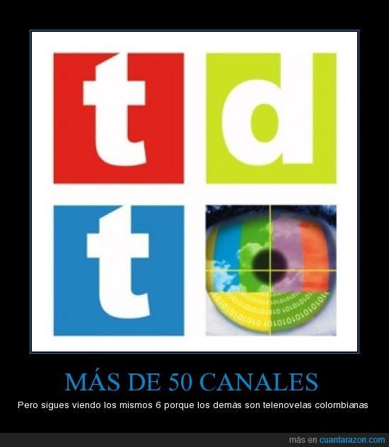 canales,tdt,telenovelas