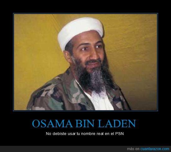 bin laden,Osama,PSN
