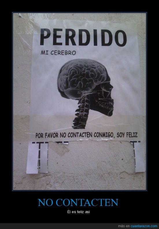 Cerebro,perdido