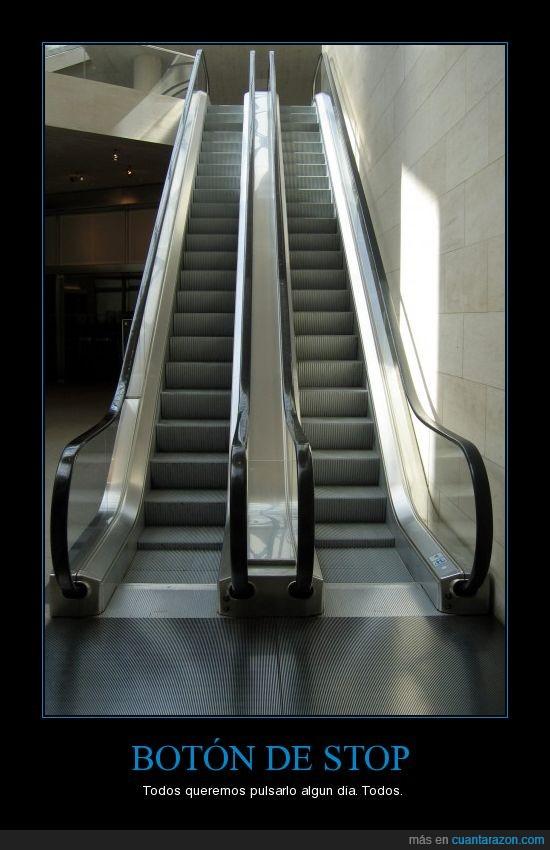 boton,escaleras,stop