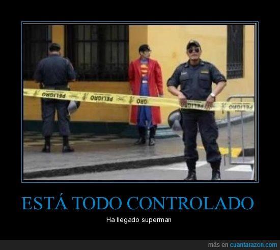 policia,Superman