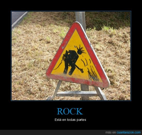 obras,rock,señal