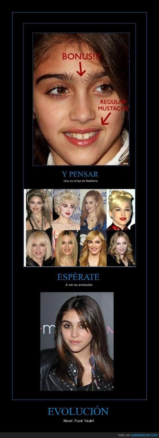 Evolución,Hija de Madonna,Lola