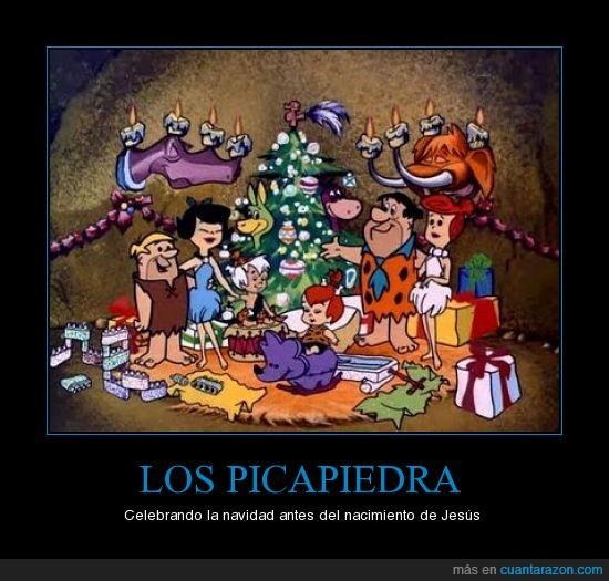 Los,navidad,picapiedra
