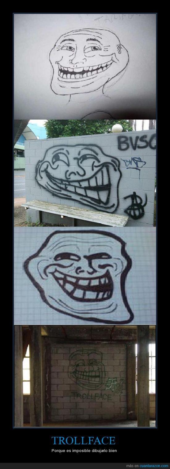dibujo,trolleo,Trollface