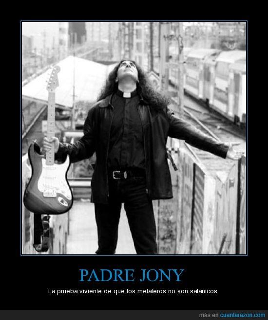 cura,heavy,Iglesia,metalero,padre jony