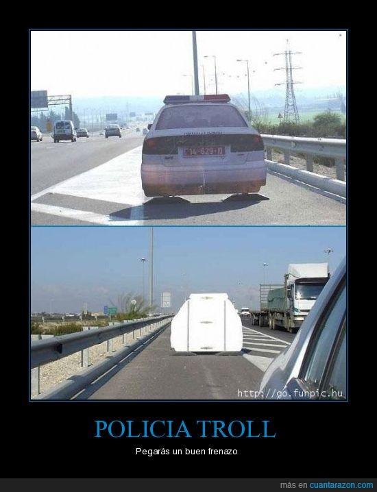 carretera,cartel,policia