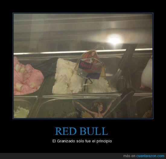 cosas del mundo,helado,Red bull