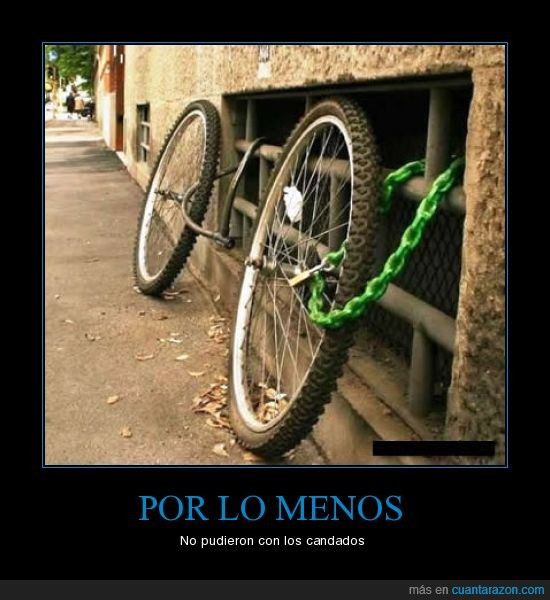 Bicicleta,Candado