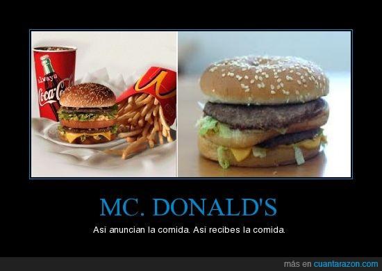 buena,hamburguesa,mala,mc.donald's