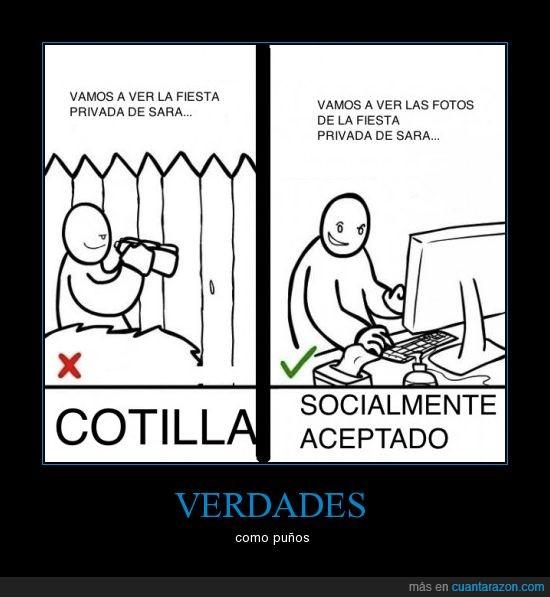cotilla,facebook,ordenador