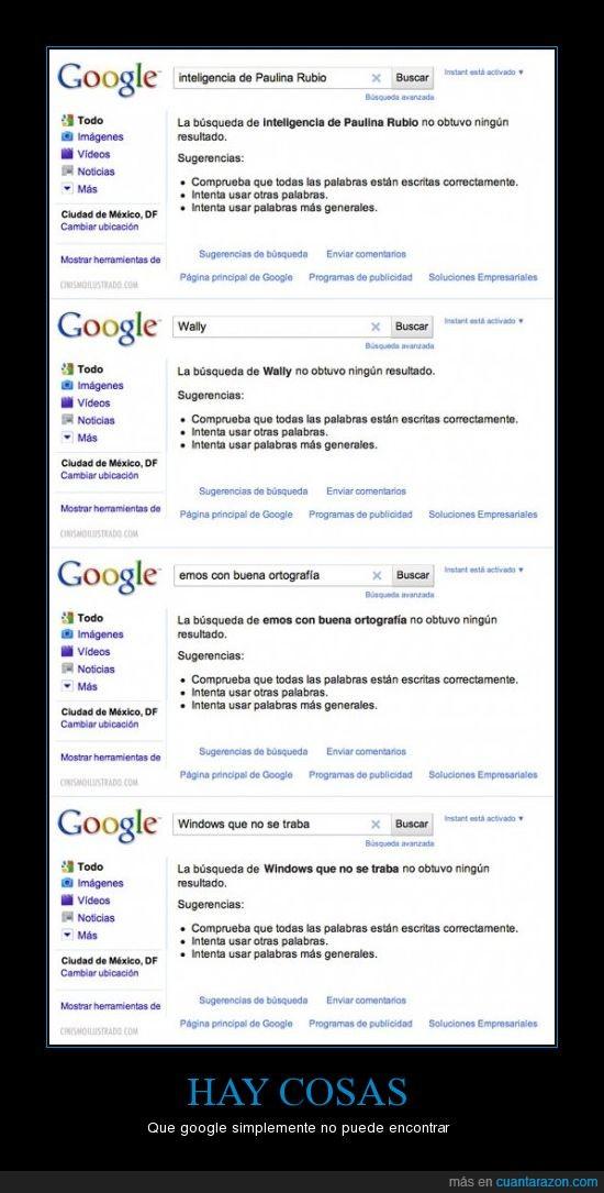 cosas,google,windows
