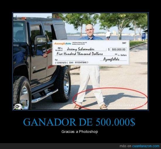 dinero,fail,ganador,photoshop