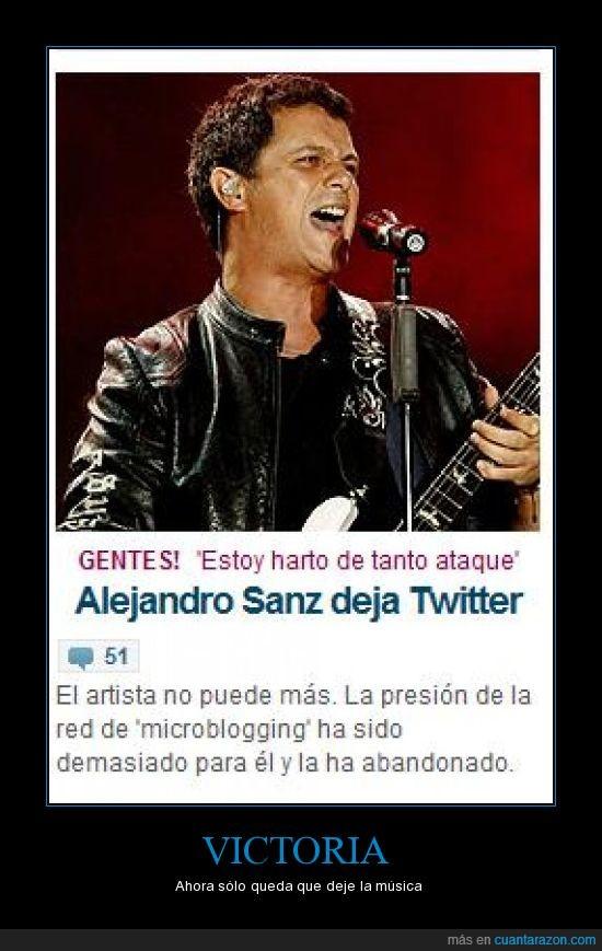 alejandro sanz,sgae,twitter
