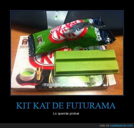 futurama,guay,kit kat,verde