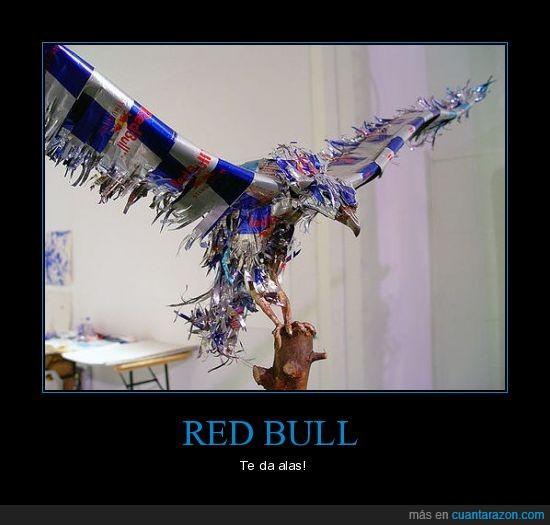 águila,alas,red bull