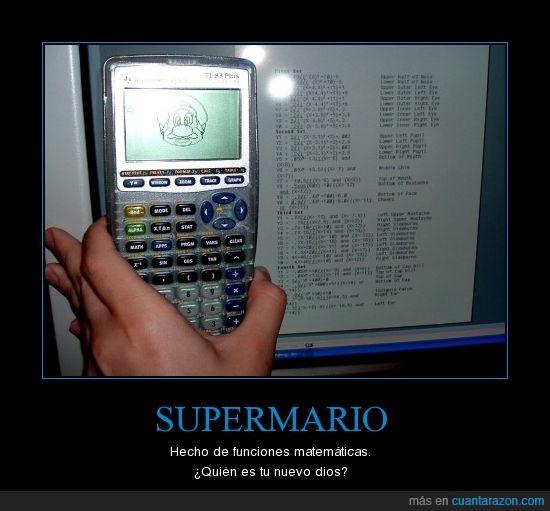 calculadora,mario