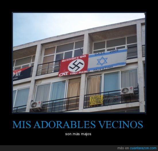 israel,nazis,palestina,vecinos